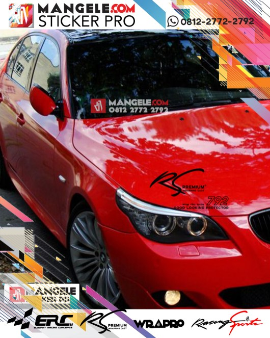 RSG-04 Red Fire Super Gloss RS Premium Wrapping