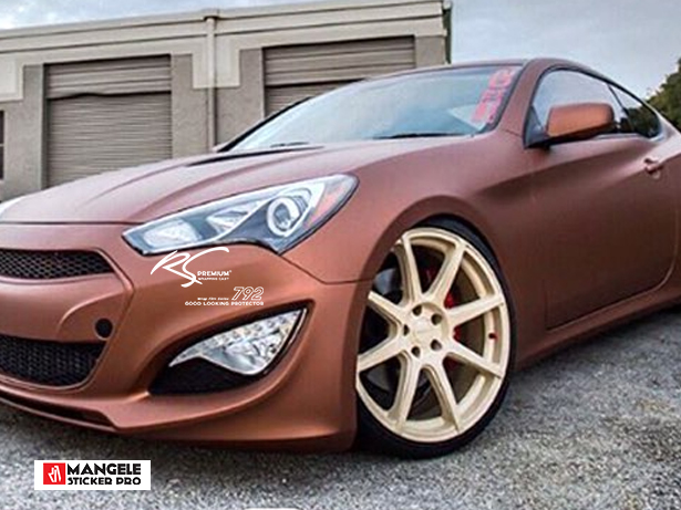 BCM-11 Brown chrome metallic matte RS Premium wrapping