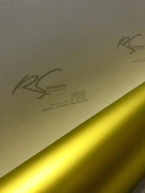 GCM-01 Yellow Gold chrome metallic matte rs premium