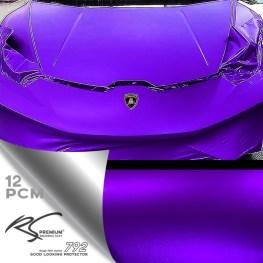 PCM-12 Purple chrome metallic matte RS Premium Wrapping