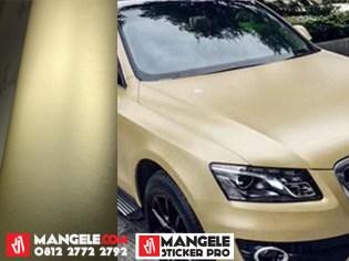GCM-09 Soft Gold chrome metallic matte Rs Premium wrapping