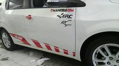 cutting stiker mobil | Cutting Aveo custom Bandung | mangele stiker 081227722792