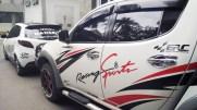 stiker mobil bandung cutting erc racing sport mangele