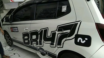 cutting stiker mobil | Cutting agya custom Bandung | mangele stiker 081227722792