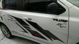 striping datsun erc racing sport keren Mangele stiker