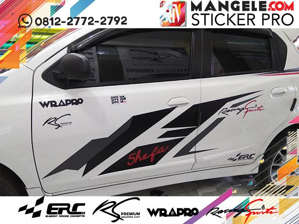 cutting stiker mobil | Stripping Datsun ERC Racing Sport Keren Bandung | mangele stiker 081227722792