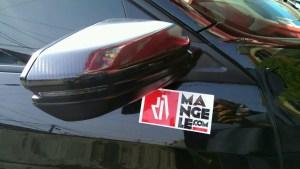 honda civic spion carbon 6d mangele stiker