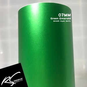 07MM Green Emerald Metallic Super Matte