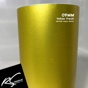 09MM Yellow Fresh Metallic Super Matte