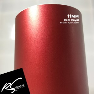 11MM Red Royal Metallic Super Matte