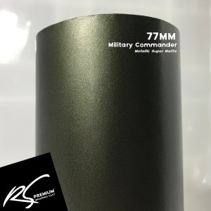 77MM Military Commander Metallic Super Matte