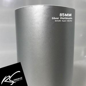 85MM Silver Platinum Metallic Super Matte