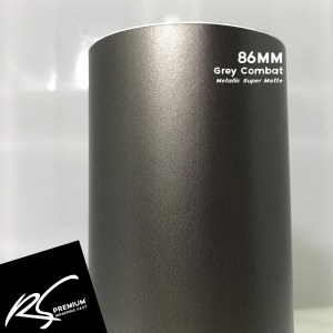 86MM Grey Combat Metallic Super Matte