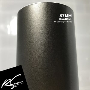 87MM HardCoal Metallic Super Matte