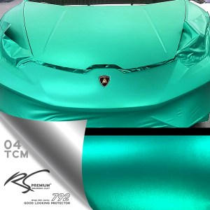 TCM-04. Turqouise chrome metallic matte