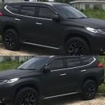 satin SILK series; RS Premium wrapping hitam doff stiker mobil keren