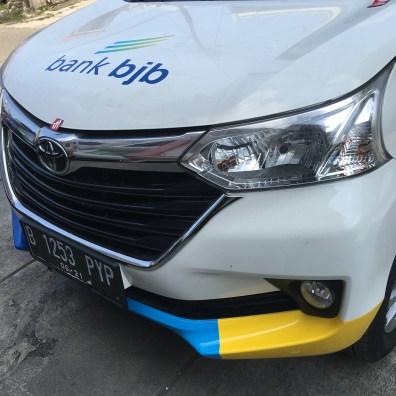 stiker car branding