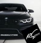 exclusive Stiker Mobil Hitam Doff