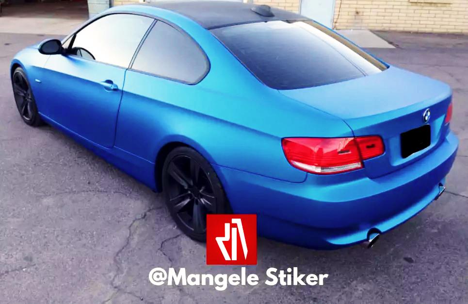 Visual Exclusive Dengan Sticker Mobil Premium Mangele