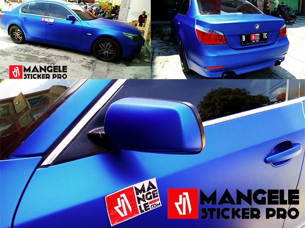 Sticker Mobil Premium Wrapping Mangele Bandung