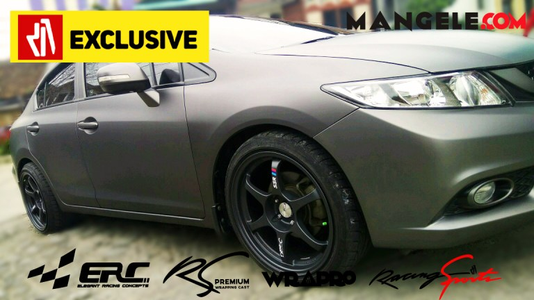 Limited Edition Hardcoal Series Stiker Mobil Premium Mangele Bandung