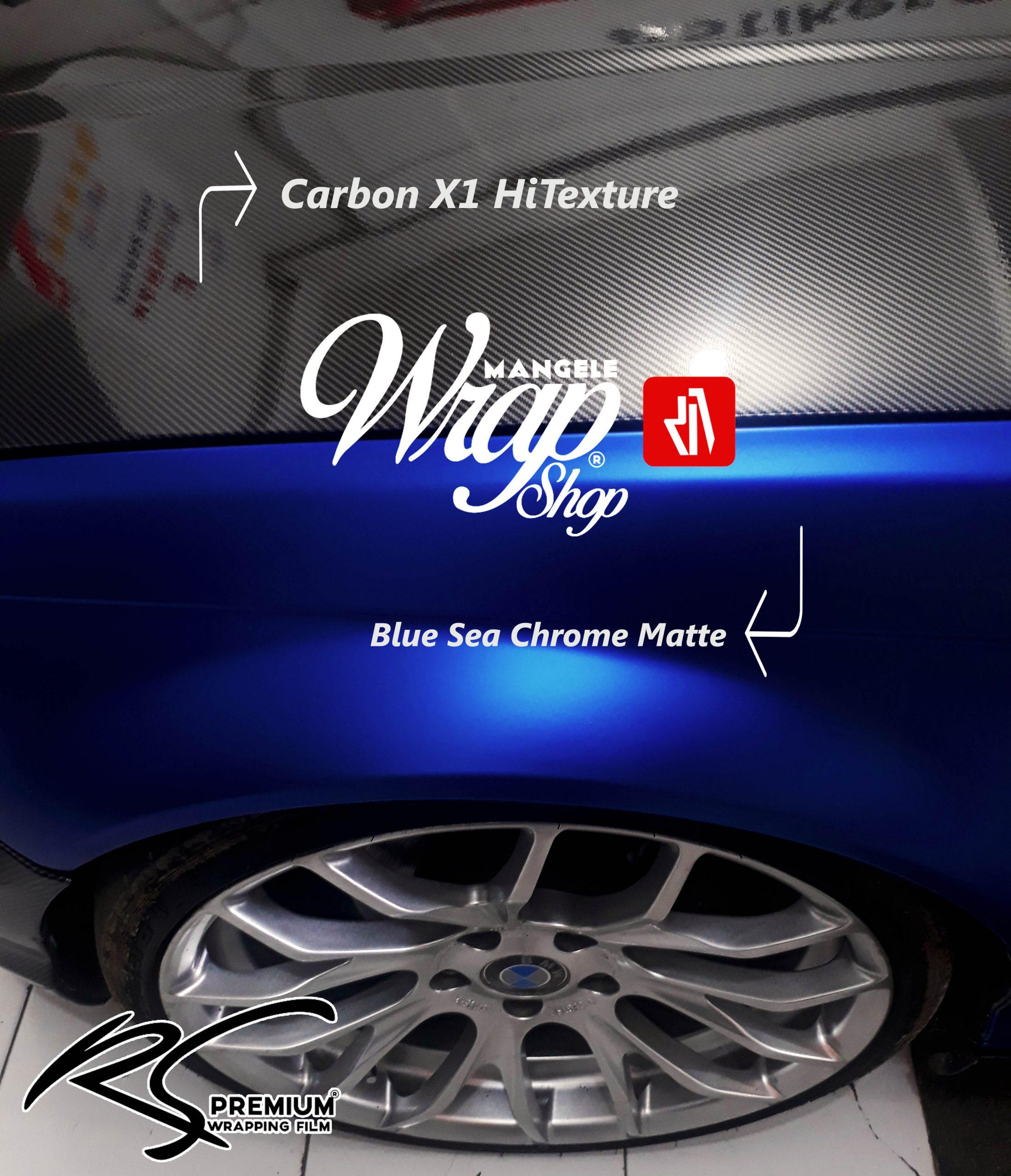 Stiker Pelindung Kap Mesin Mobil Carbon X1 HiTexture Premium