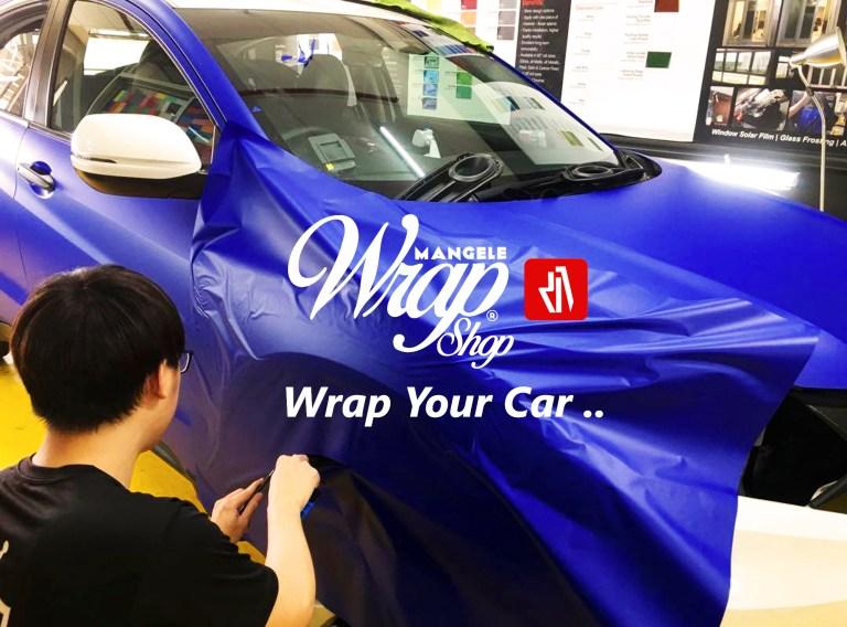 Wrap Your Car, Mangele Stiker Mobil Premium Solusinya