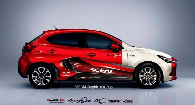 Stiker Mobil Racing Keren Mangele