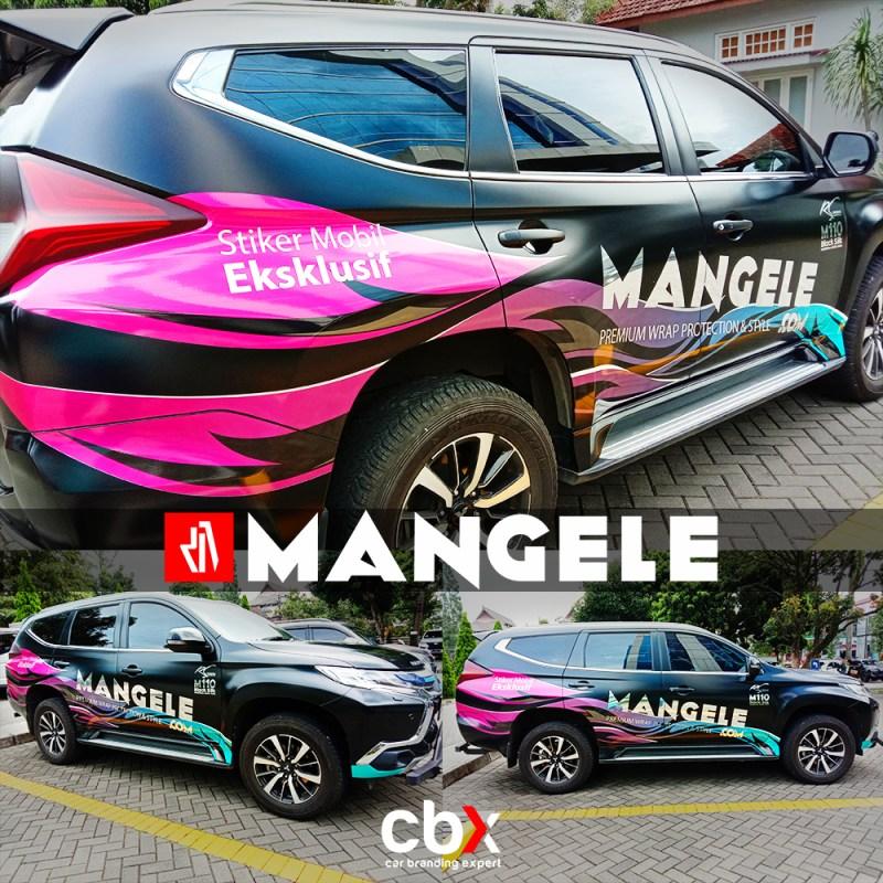 Mangele Stiker Mobil Bandung