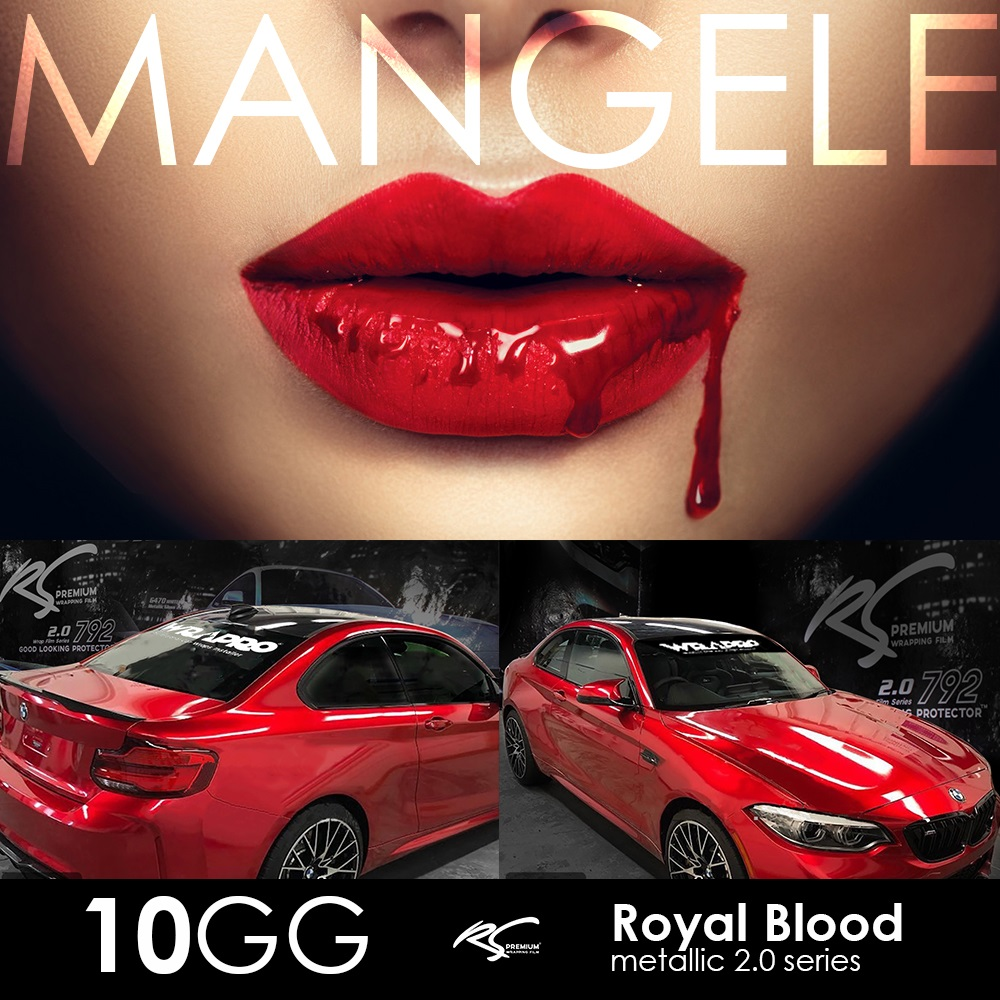 Royal Blood Wrapping Mobil