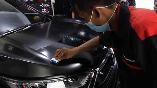 Nano Ceramic Coating Mobil Bandung Mangele Stiker Premium