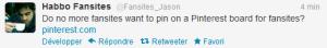 Tweet de Jason