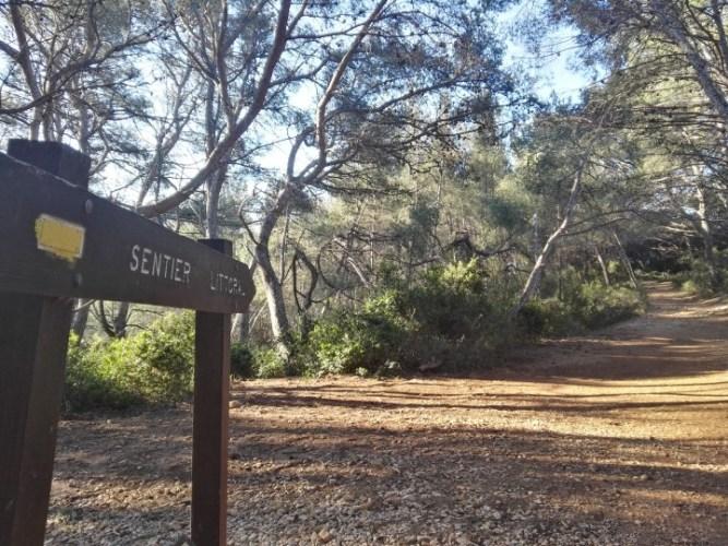 Bandol Trail sur le sentier du littoral