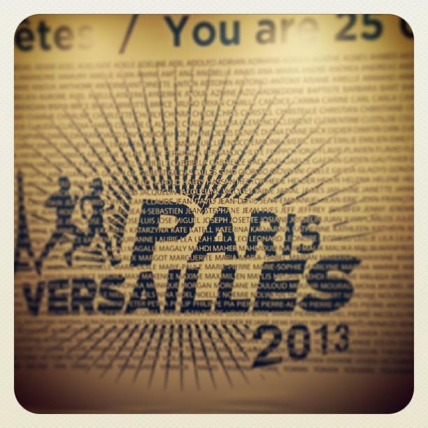 Paris Versailles 2013