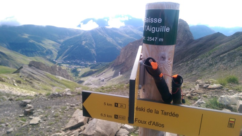 batons de trail guidetti explore carbon