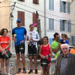 Podium surprise au Trail de Signes
