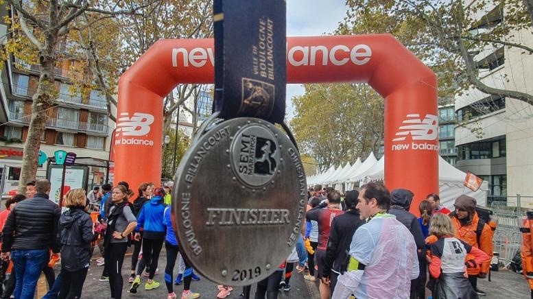 Semi-marathon de Boulogne Billancourt avec New Balance