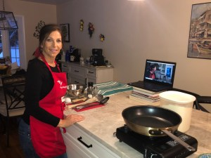 Virtual Cooking with Christine - Homemade Gnocchi @ Zoom Class