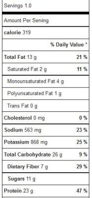 insalata fagiolini, salmone e verdure