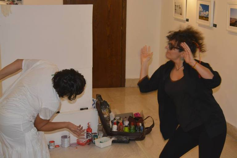 Bari Nostra_performance pittorico teatrale