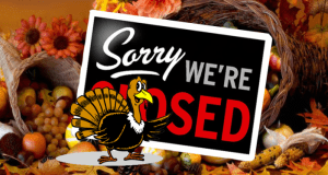 Thanksgiving Day - CLOSED @ Mangia Tutto