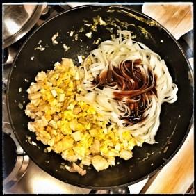 aggiungete gli spaghetti di riso