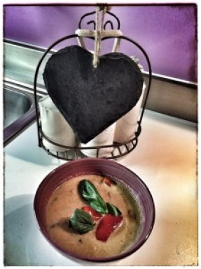 Sara's Red curry soup