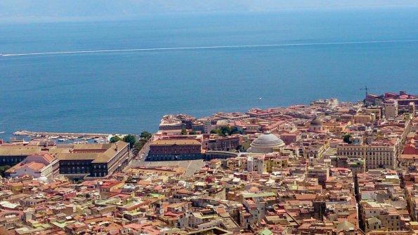 vista da Caste Sant Elmo Vomero, Napoli