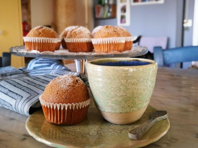 Muffins allo yogurt al caffè