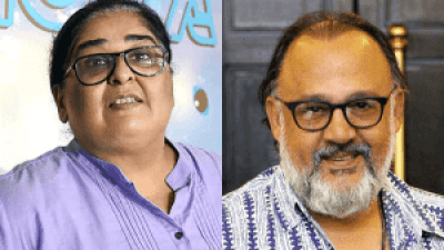 Vinta Nanda and Alok Nath