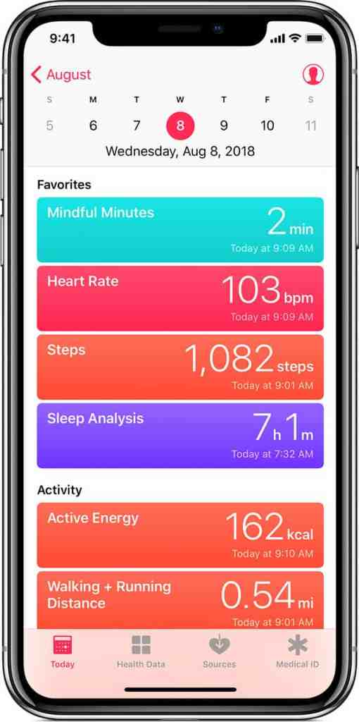 share apple health data with coach