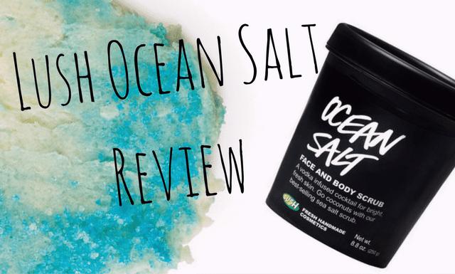 Lush ocean salt review