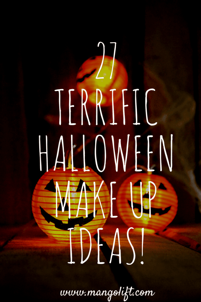 27 Terrific Halloween Makeup Ideas