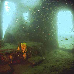 japanese patrol boat wreck subic bay